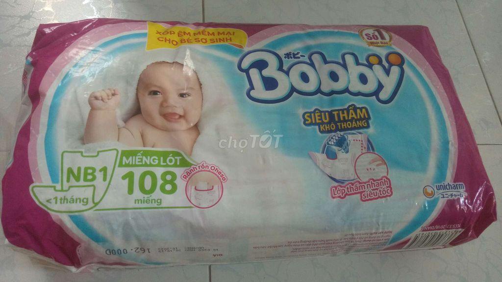 Miếng dán cho bé hiệu Bobby cho bé trên 1 tháng