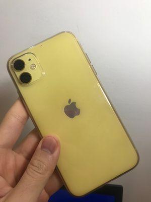 Iphone 11 128gb vàng, hàng vna, hêt bh, pin 87%