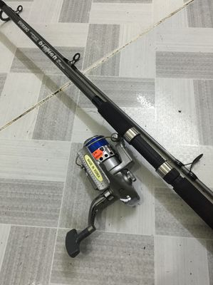 Cần câu cá shimano máy của Korea trọn bộ