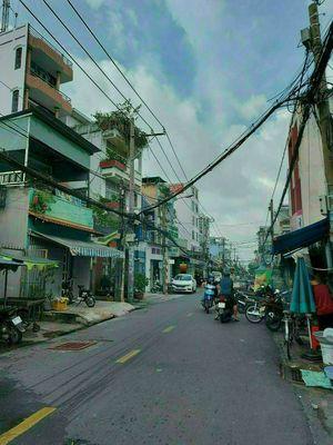 Nhà bán hẻm 730 Hưng Phú P10 Q8