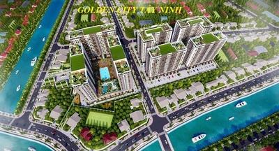 Chung cư Golden City Tây Ninh 50m² 2 PN