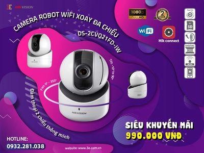 Camera Robot Wifi full HD HIKVISION