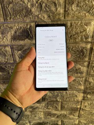 Note 9 Xách tay Nhật chip SnapDragon- Zin all