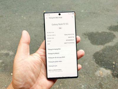 Samsung Note 10 5G 12/256 có GL