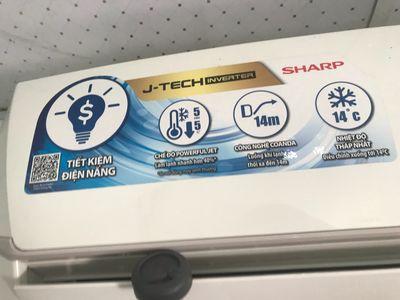 máy lạnh tiết kiềm điện 1HP