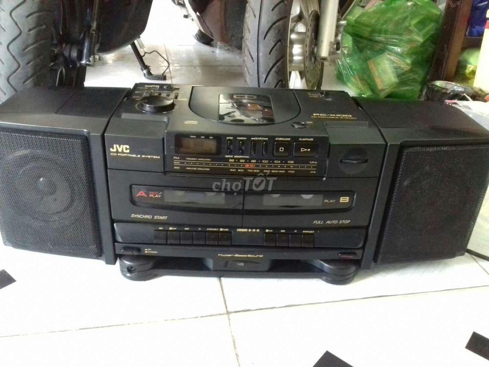 Cd cassette radio