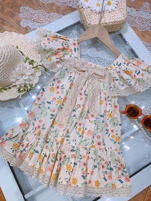 Váy hoa bé luôn sẵn ạ