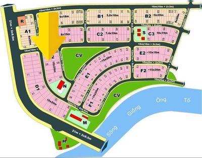 Bán nền Biệt Thự KDC Văn Minh.P AN PHÚ Q2 122tr/m2