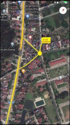 Lô góc, cách Quốc lộ 21 : 50m, sẵn sổ Full thổ cư