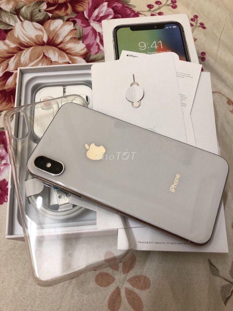 Apple iPhone X 256G Q.Tế VN Còn Hộp sách fullbox