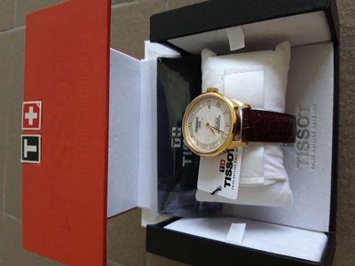 Bán chiếc đồng hồ Tissot Thụy sỹ.