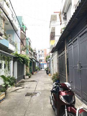 Bán nhà hẻm 4m gò dầu. Tân Phú