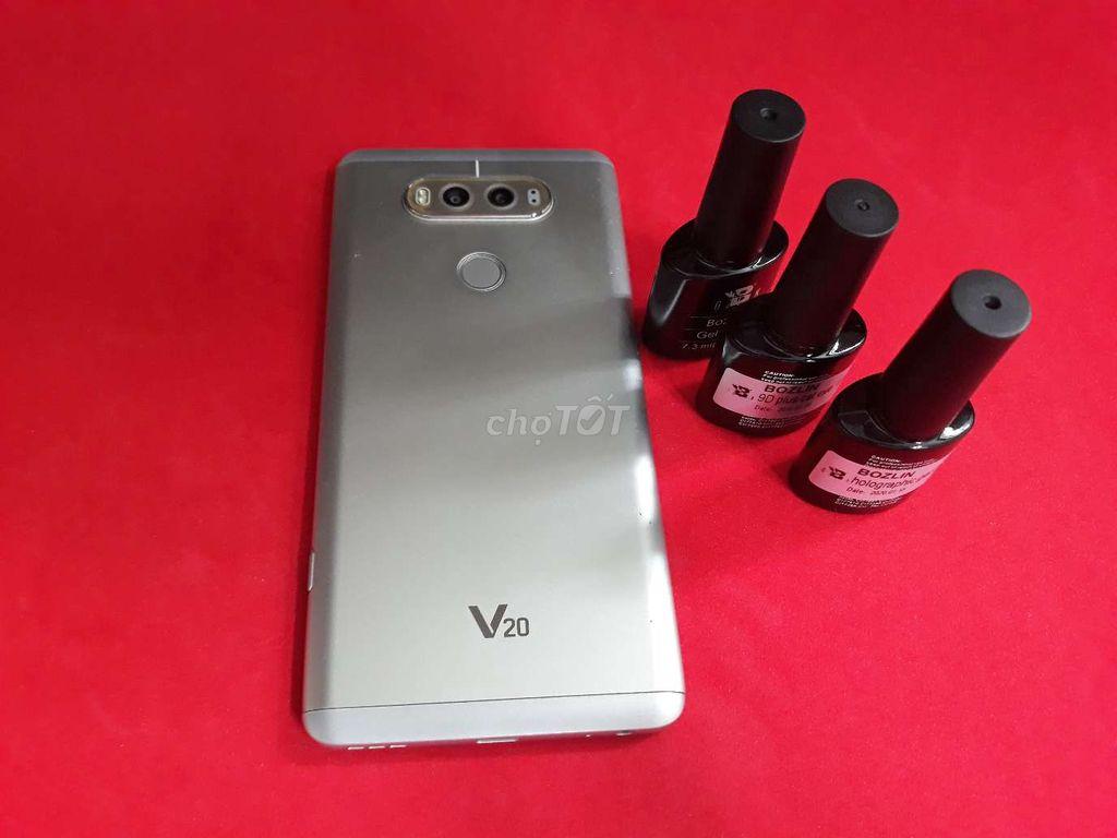 0569110807 - Đăng bán máy LG V20 màu bạc 64gb bao text chức năg