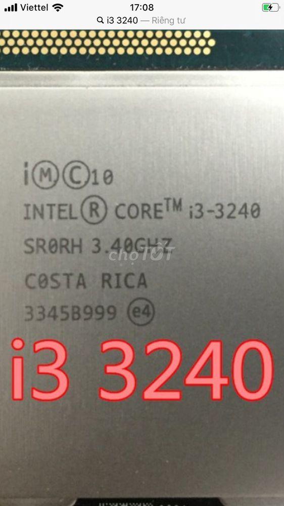 Cần bán nhanh chip i3 3240
