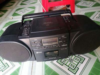 Cd radio cassette SHARP QT C300