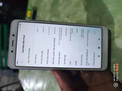 Xiaomi Redmi 6A zin ram 2gb rom 16gb 4G LTE
