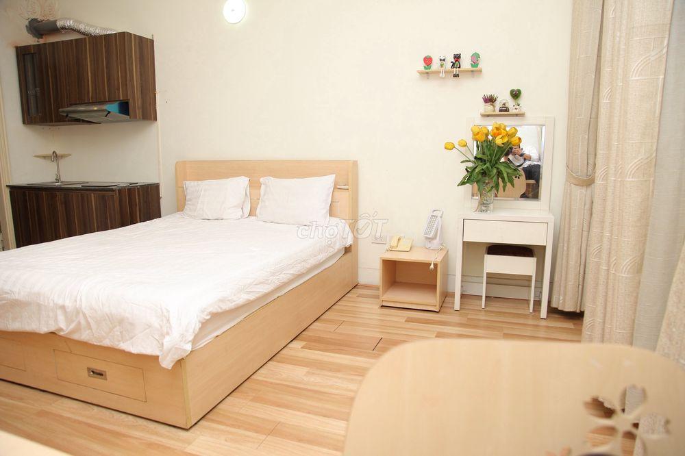 CHO THUÊ căn hộ dịch vụ tại 18 Phố Hàm Long, Hk