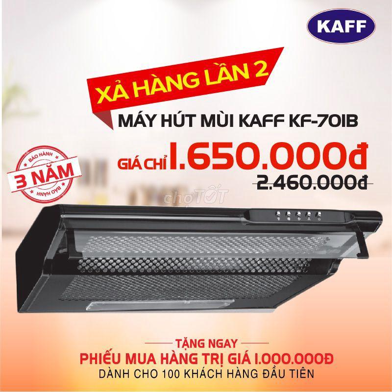 Máy hút mùi bếp KAFF KF-701B (Mới 100%, có 100c)