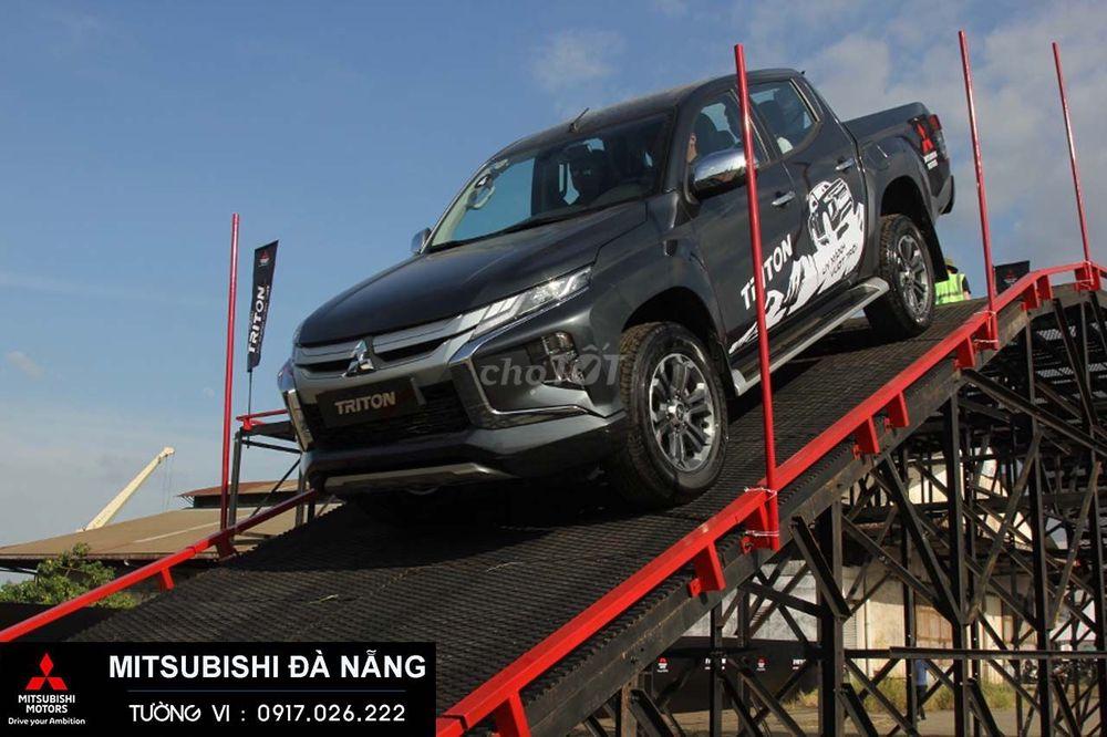 Mitsubishi Triton 4x2 AT, trả góp 80%