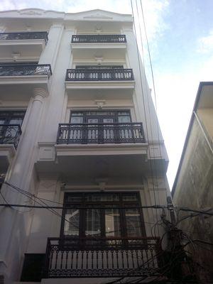 Bán nhà 2 mặt tiền,5 tầng phố Nguyễn Công Trứ,HĐ