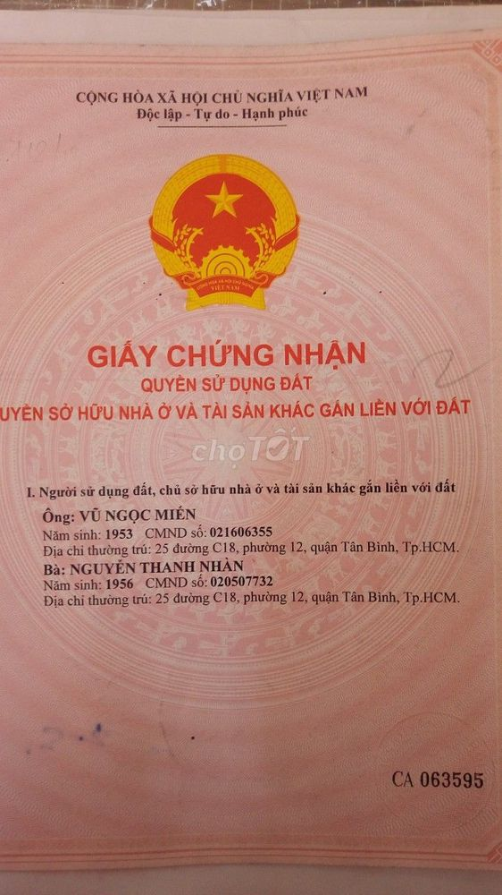 Bán Lô đất đối diện ĐH Văn Lang 4x24 giá 10.5 tỷ