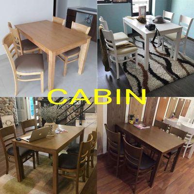 Cửa hàng chuyên cung cấp một số mẫu bộ bàn ăn gỗ