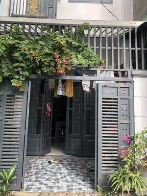 Nhà 1 lầu quá đẹp 38m2 SHR giá mềm Trần Văn Kỷ