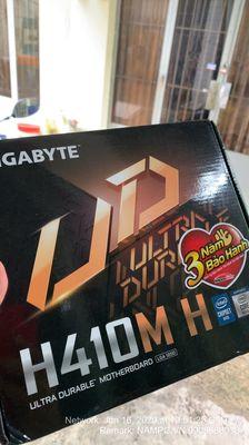 Mainboard thế hệ 10: Gigabyte H410M, chính hãng