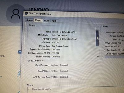 Laptop ideapad 330 ssd 120gh