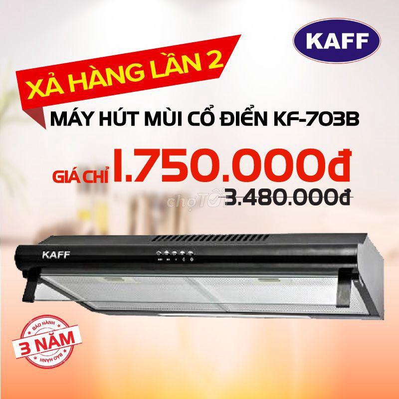 Máy Hút Mùi Bếp KAFF KF-703B (Mới 100%, có 100c)