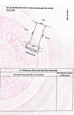 Bán đất 45m2 Hồ Máy Điện, Ngô Quyền, Hải Phòng 1,5