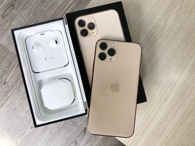 Iphone 11 Pro Max 256GB GOLD fulbox Còn BH 5tháng