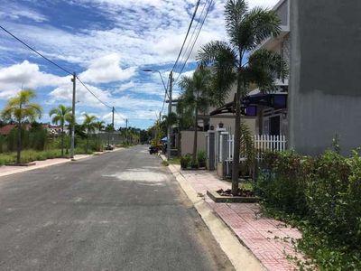 Nền đôi đường chính khu đô thị Hai Lúa Sa Đéc