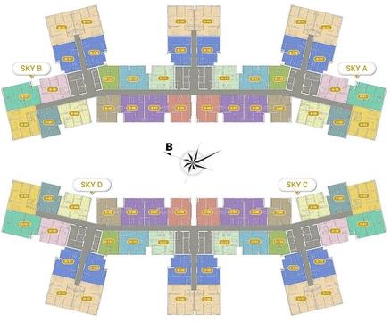 Chung cư Imperia Sky Garden 423 Minh Khai 82m² 2PN