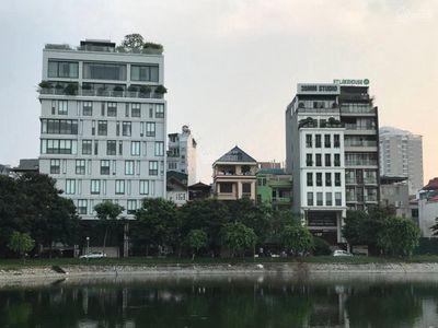 Măt phố hiếm,vip , mặt tiền rộng, view hồ, Trấn Vũ