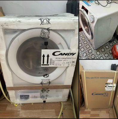 Máy giặt sấy Candy lổng ngang 9kg mới 100%