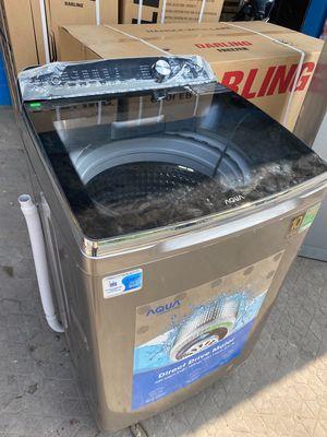 Máy giặt aqua mới 99% chưa sử dụng 12kg
