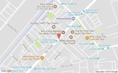 Chung cư Chung cư Tây Thạnh 58m² 2PN,1.55ty