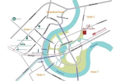 Căn hộ 3PN 92m2 dự án Paris HK - Thủ Thiêm