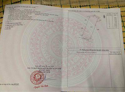 Đất Huyện Xuân Lộc 1.121m²