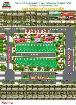 bán lô đất hẻm 226 đường 8 Linh Xuân, Thủ Đức