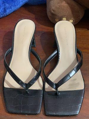 Giày sandal cao gót Charles & Keith