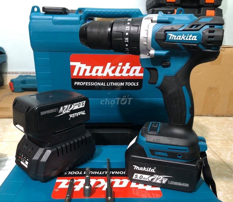 Máy khoan pin Makita 72V