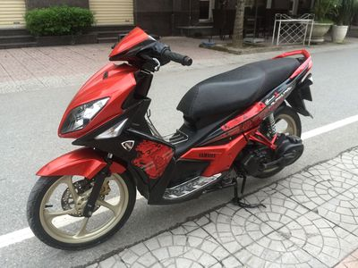 Yamaha Nouvo LX 135 màu đỏ biên HN