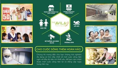 Chung cư The Avila 50m² 1PN bán gấp