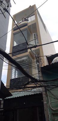 Bán nhà Q4 30m2 nở hậu , kết cấu 1 trệt 2 lầu