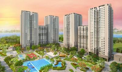 Saigon South Residences 69m² 2PN 2wc Full NT