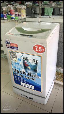 Máy 7,5kg chạy êm giặt sạch vắt sấy cực khô