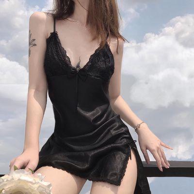 Đầm ngủ hai dây chimoki lingeries