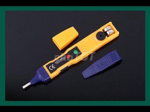 Bút thử điện phát hiện dòng điện từ xa/âm tường